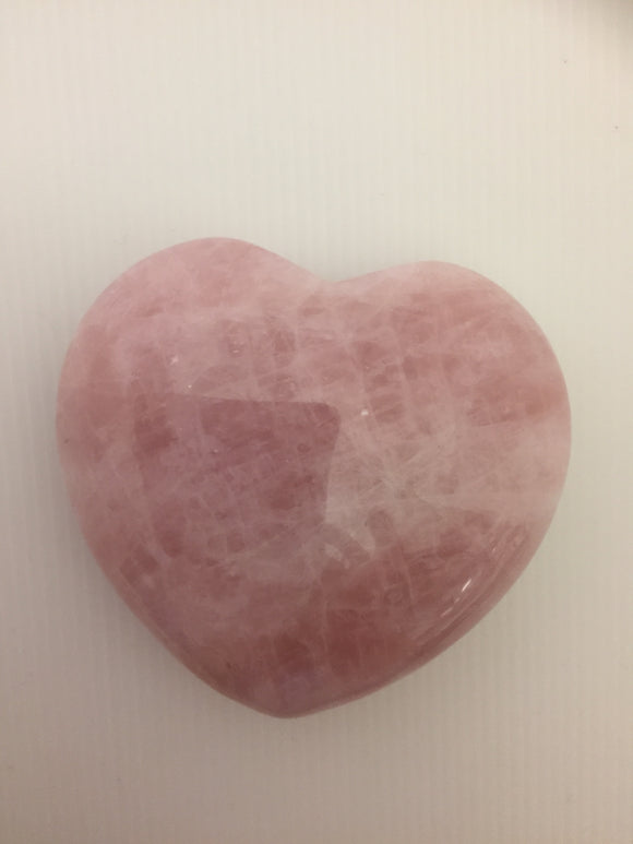 Extra Large Rose Quartz Heart