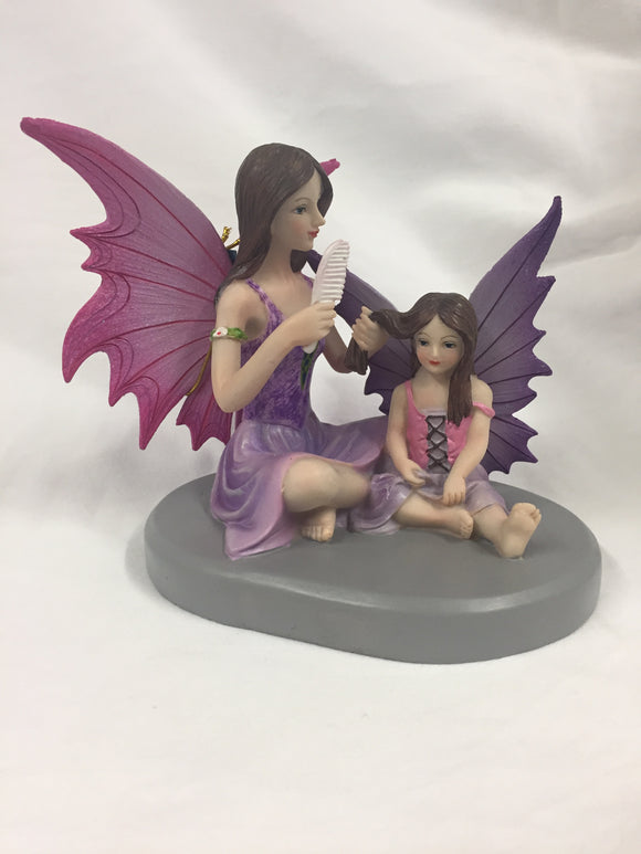 Sisters Love Fairy Figure