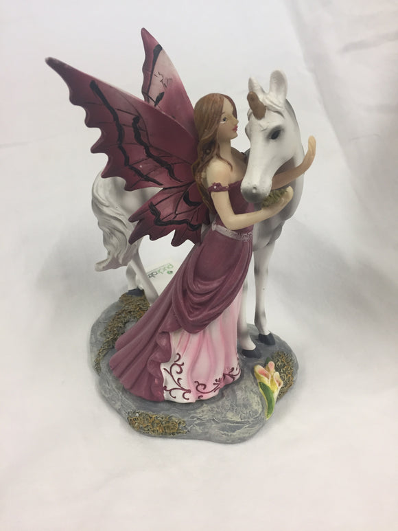 Fairy & Unicorn Figure