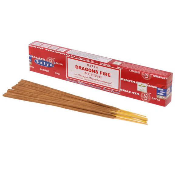 Satya Dragon Fire Nag Champa Incense Sticks