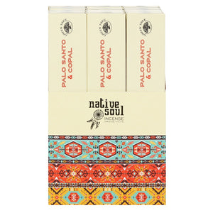 Copal and Palo Santo Native Soul Incense