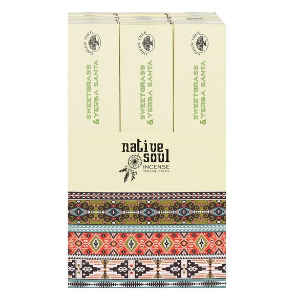 Yerba Santa and Sweet Grass Native Soul Incense