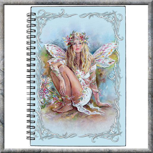 Journal - Honeysuckle Faerie by Christine Hawarth
