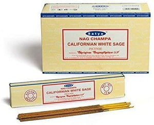 Satya Californian White Sage Incense