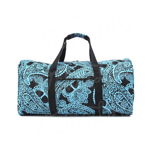 "22"" Gym Duffel Bag - Blue Paisley"