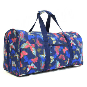 "22"" Gym Duffel Bag - Pink Butterfly"