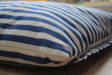 Load image into Gallery viewer, FRANCES - Vintage Stripe Linen Cushion Dog Bed
