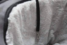 Load image into Gallery viewer, FLOYD - Grey Linen Fleece Dog Bag Carrier