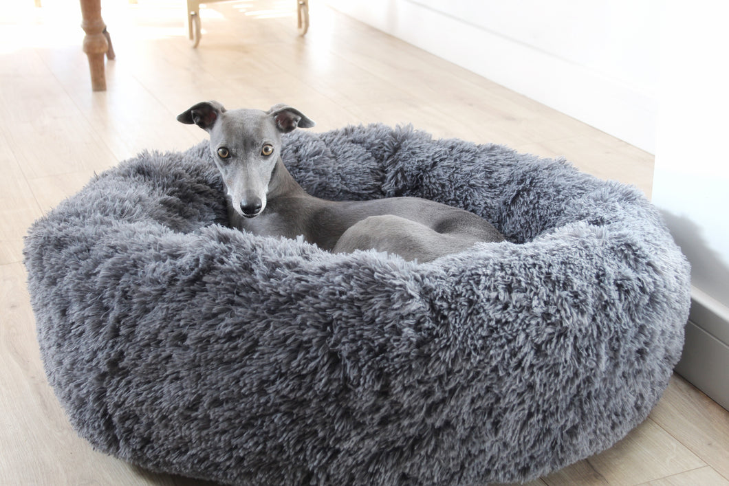ON CLOUD 9 - Fluffy Round Deep Dog Bed