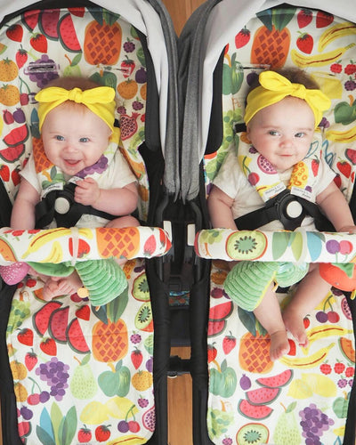 Custom Reversible Pram Liner-Accessories-Mumma & Co Handmade