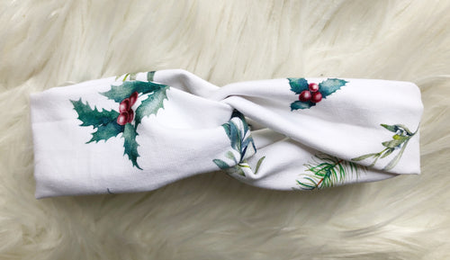 Christmas Twist Knot Headbands