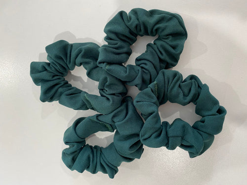 Scrunchies in School Colours