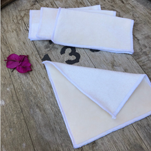 Load image into Gallery viewer, Natural Bamboo Reusable Baby Wipes: 5 Pack-Accessories-Mumma & Co Handmade