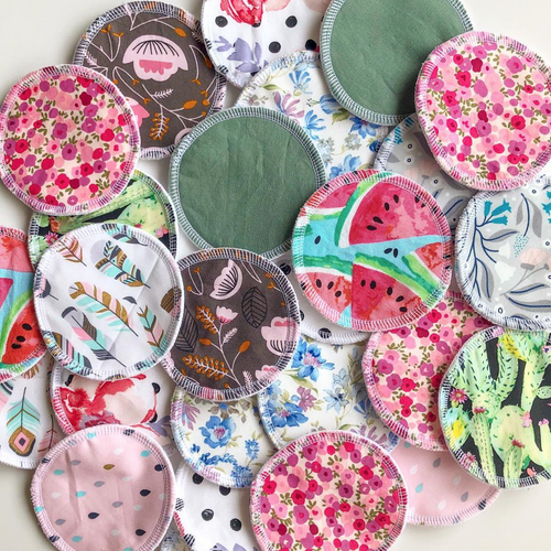 Leak Proof Nursing Pads-Mumma-Mumma & Co Handmade