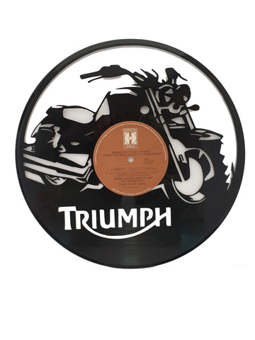 Truimph Motorcycle Old Record