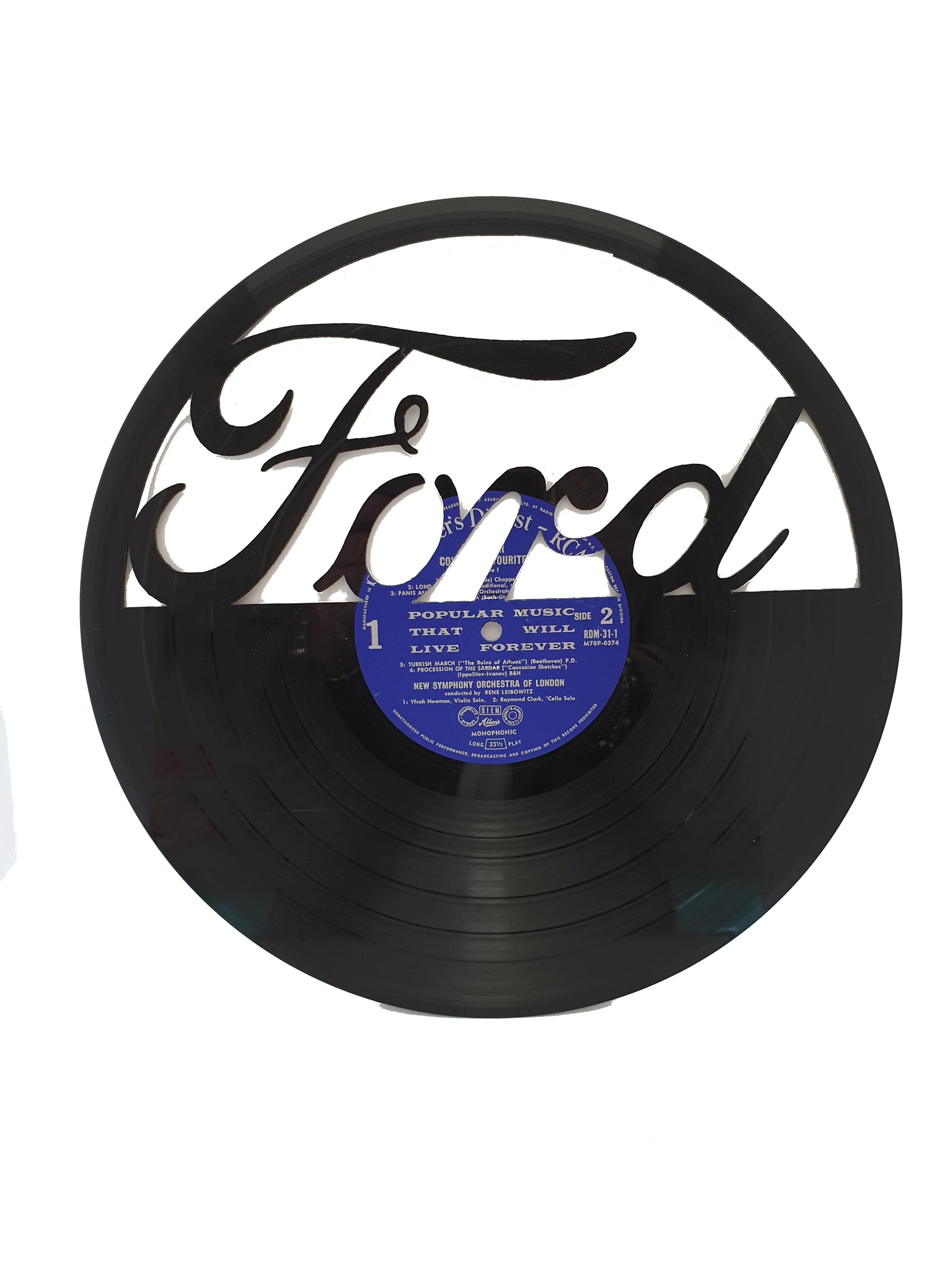 Ford Old Record