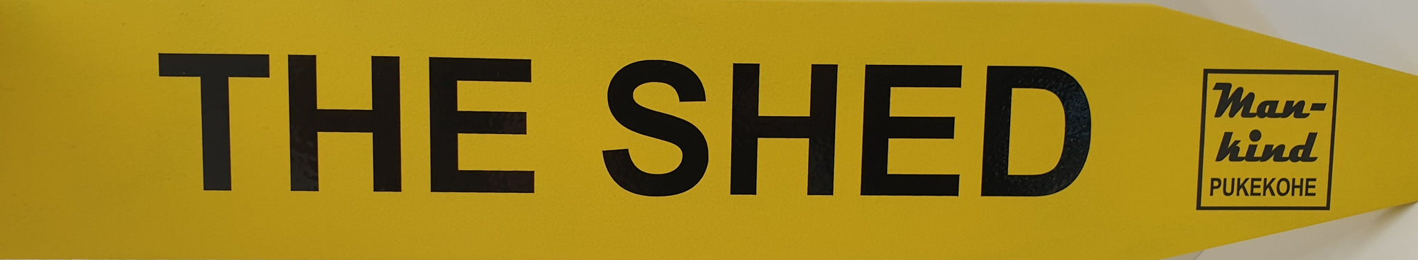 Street Sign 'The Shed'