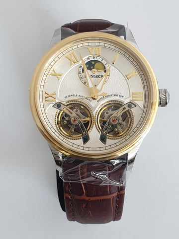 Binger Double Tourbillon Mens Watch
