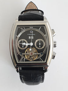 Forsning Tourbillon Silver Automatic Watch