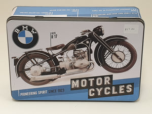 BMW Motorcycle Tin
