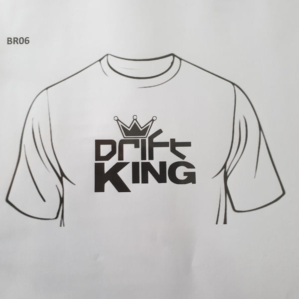 Drift King With Crown - Tee Shirt - Sweat Shirt - Hoodie