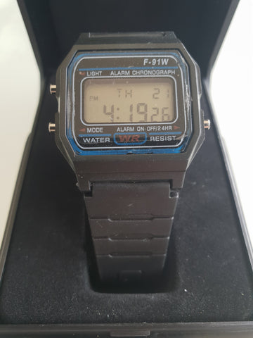F-91W Mens Wristwatch