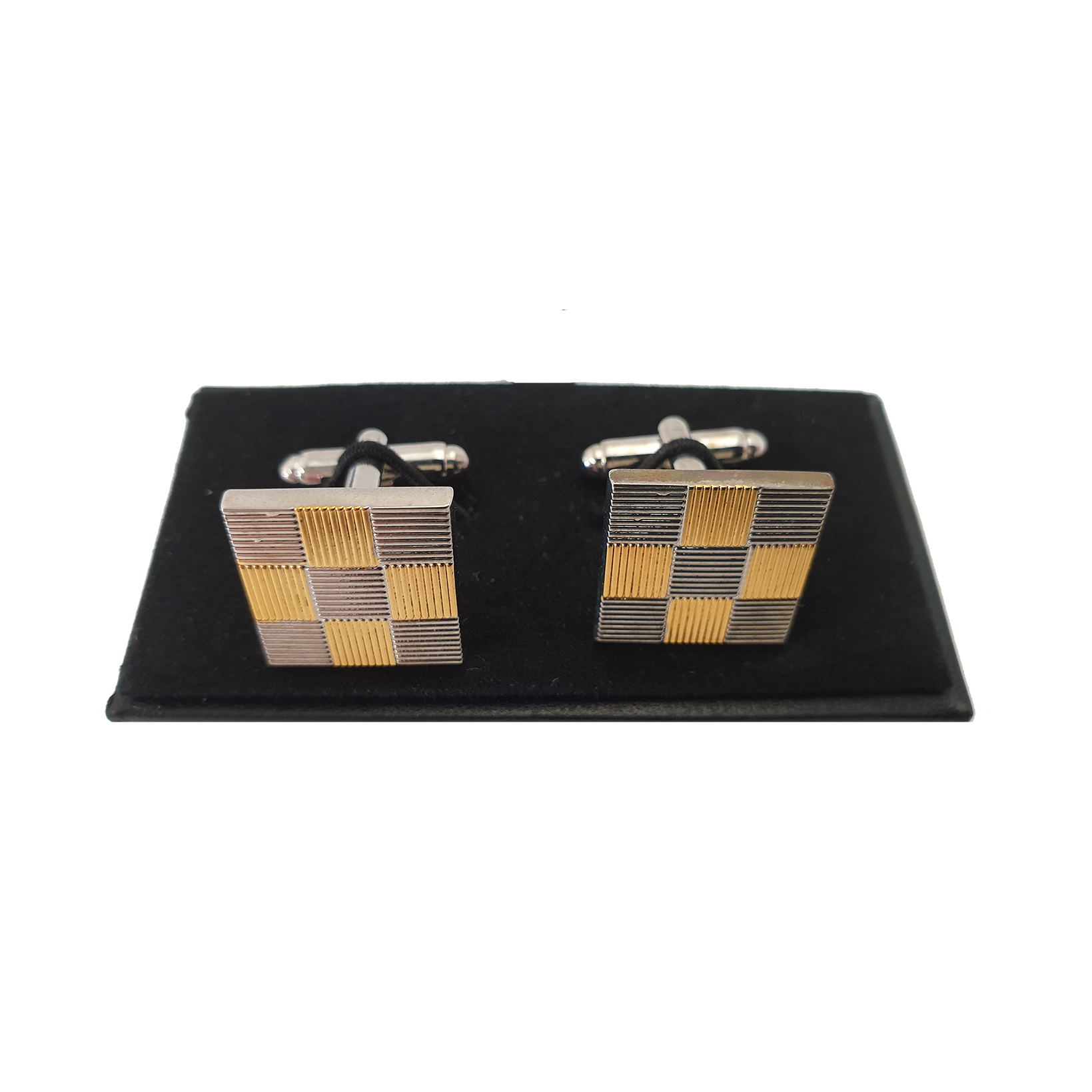 Gold and Silver Cufflinks