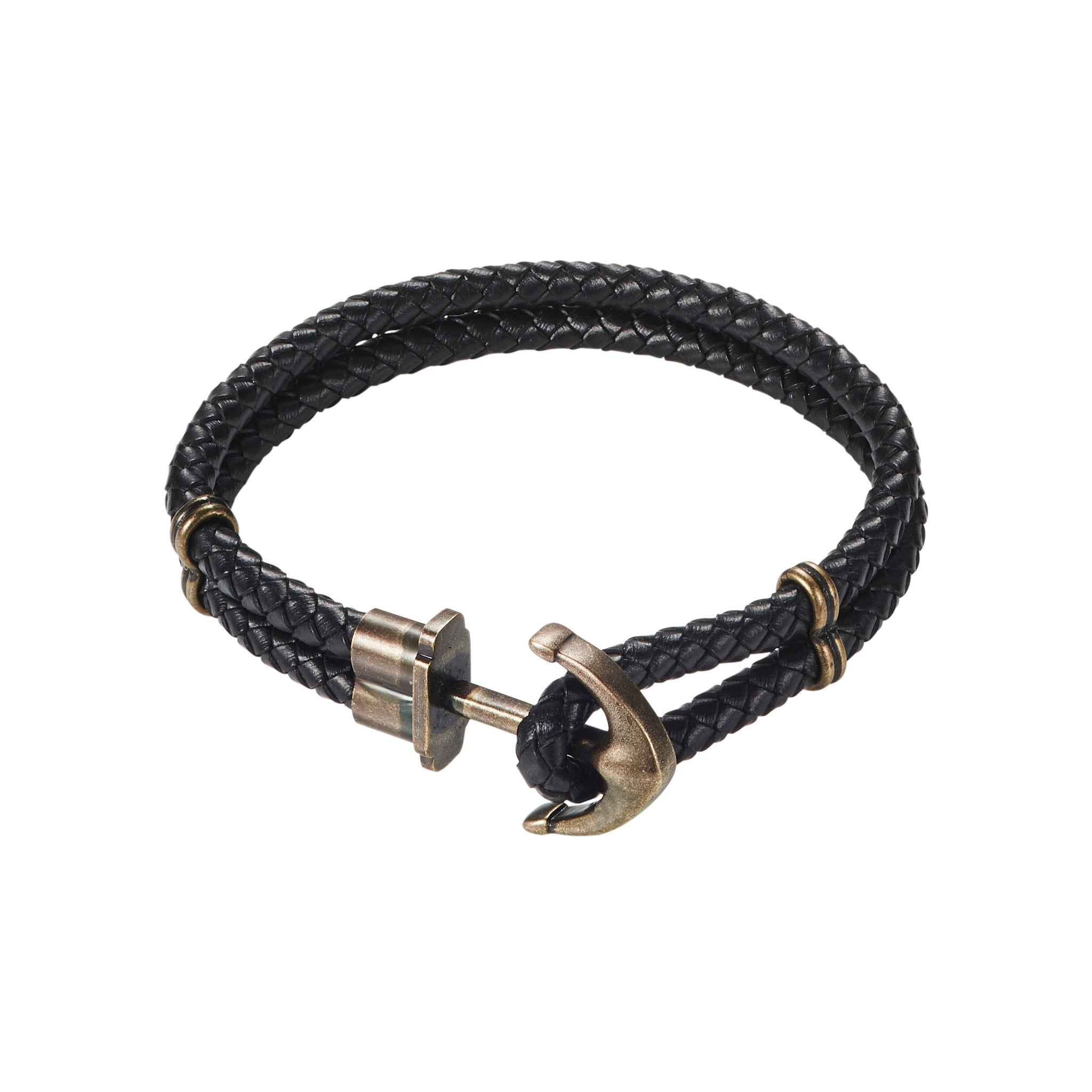 Cudworth IP Black and Stainless Bracelet