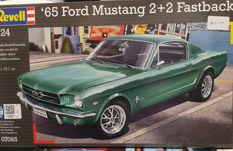 65 Ford Mustang Plastic Model Kit