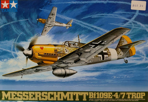 Bf109E Messerschmitt Plastic Model Kit