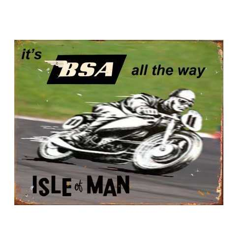 BSA - Isle of Man