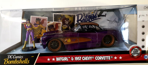 Bat Girls Chevy Corvette