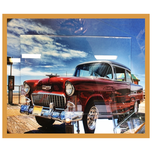 Chevrolet 3 D type Glass Art