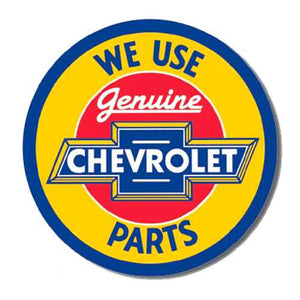 Cheverolet Parts Tin Sign