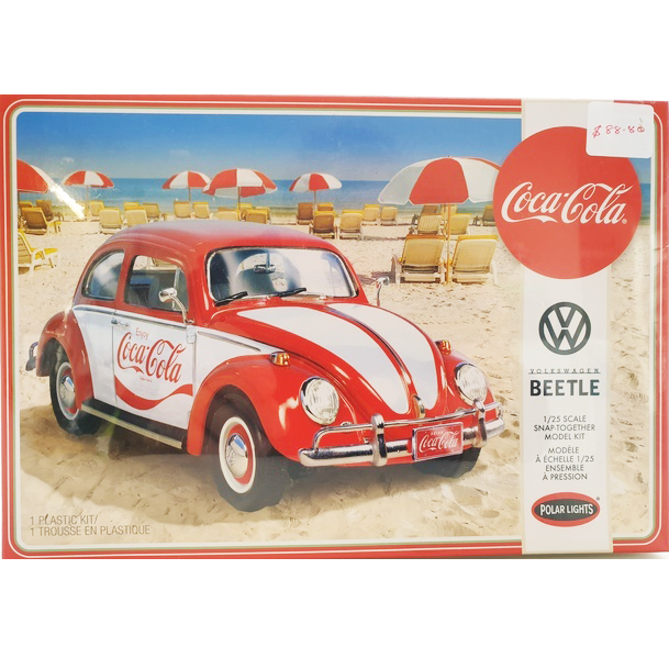 Cocacola Beetle Model Kit