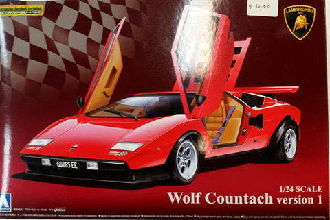 Lamborghini  Countach Version 1 Model Kit