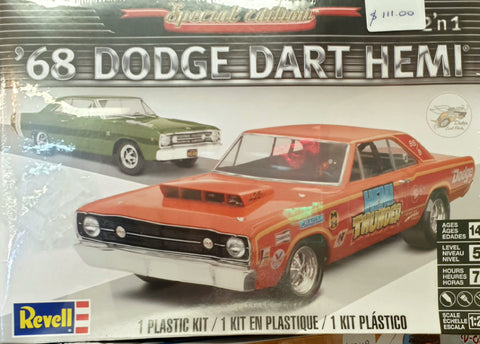 Dodge Dart Plastic Model Kit