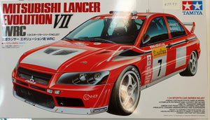 Mitsubishi Evo VII Model Kit