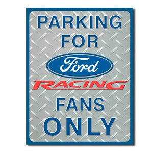 Ford Racing Parking Only