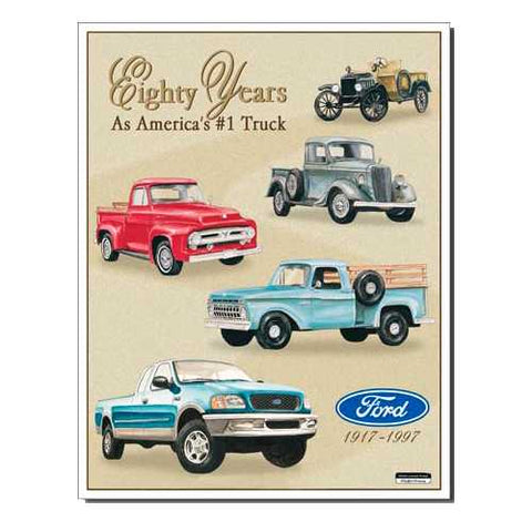 80 Yrs Ford Trucks