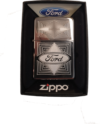 Zippo Ford Diamonds Lighter