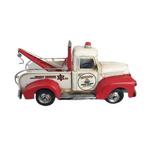 Tin Ford Jailbar Tow truck
