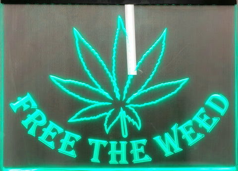 Free the Weed Sign