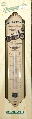 Harley Davidson Motorcycle Thermometer