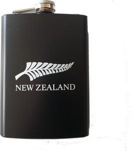 NZ Fern Hip Flask