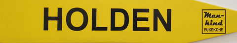 Street Sign 'Holden'