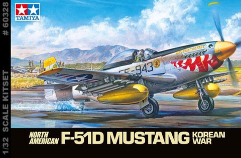 Mustang P51 Plastic Model Kit