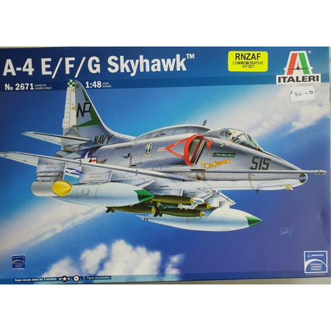Italerie A4 E/F/G Skyhawk With New Zealand Decals