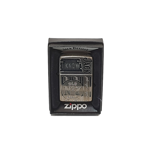 I Know Jack Daniels No.7 Zippo Lighter