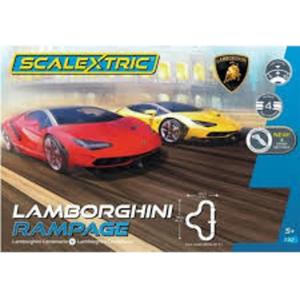 Scalextric Lamborgini Rampage Slot Car Set